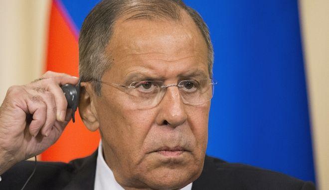 Ο Ρώσος υπουργός Εξωτερικών Σεργκέι Λαβρόφ