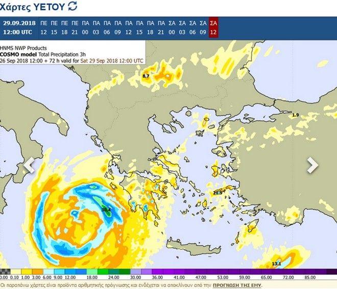 Καιρός: Από τον Ξενοφώντα στον κυκλώνα Ζορμπά - Ποιες περιοχές θα επηρεαστούν και πότε