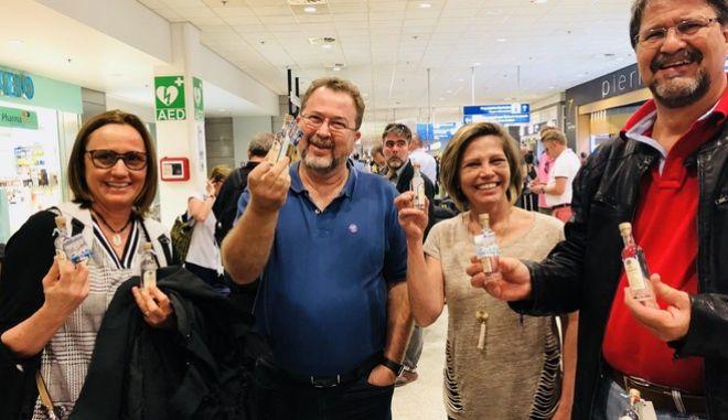 Ουζάκι στο Αεροδρόμιο Αθηνών