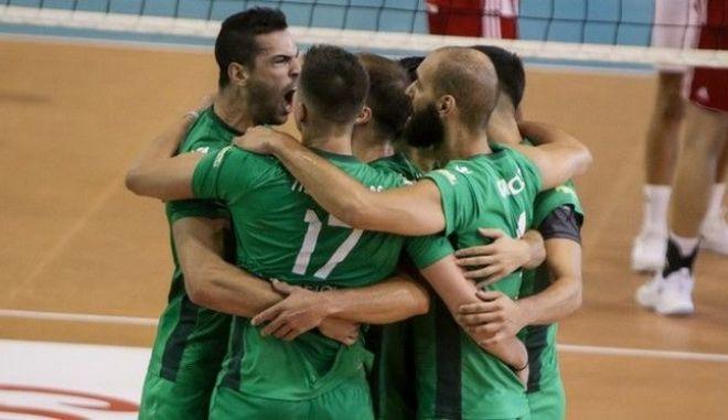 Παναθηναϊκός-Ολυμπιακός 3-1: Πρωταθλητές στο βόλεϊ οι πράσινοι μετά από 14 χρόνια