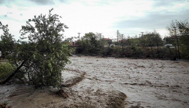 Πλημμυρικά φαινόμενα στην Καρδίτσα