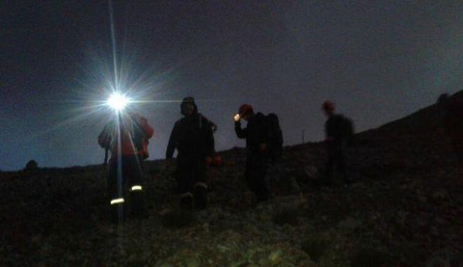 Ρέθυμνο: Επιχείρηση διάσωσης ορειβατών στον Ψηλορείτη