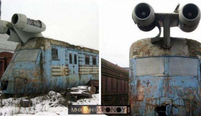 Μηχανή του Χρόνου: Το τρένο με τουρμπίνες αεροπλάνου της Σοβιετικής Ένωσης