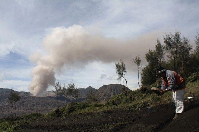 Από την έκρηξη του ηφαιστείου στην Ινδονησία το 2010