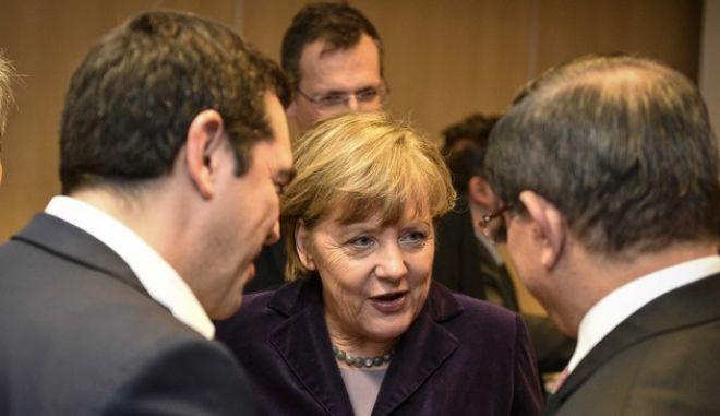 Σύνοδος Κορυφής της Ευρωπαϊκής Ένωσης με επίκεντρο το προσφυγικό και τα σύνορα της Ευρώπης την Πέμπτη 17 Δεκεμβρίου 2015. (EUROKINISSI/ΓΡΑΦΕΙΟ ΤΥΠΟΥ ΠΡΩΘΥΠΟΥΡΓΟΥ/ANDREA BONETTI)