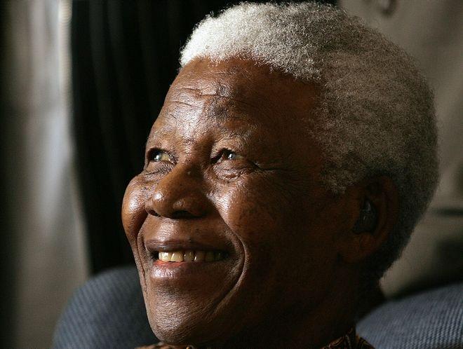 Ο Νέλσον Μαντέλα το 2006