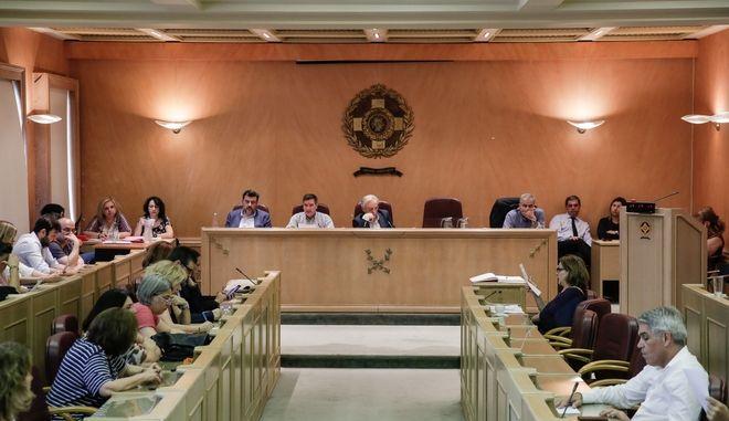 Έκτακτη συνεδρίαση του δημοτικού συμβουλίου της Αθήνας