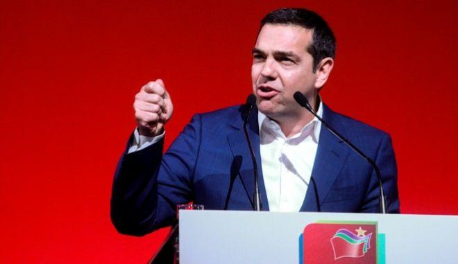 Ομιλία του Πρωθυπουργού Αλέξη Τσίπρα στο Γαλάτσι