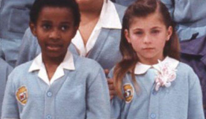 """Η μικρή Μαρία Χοακίνα από τη σειρά """"Καρουζέλ"""""""