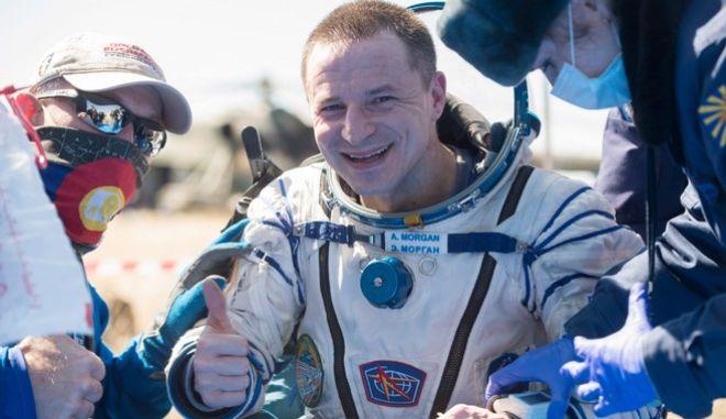 Ο Αμερικανός αστροναύτης, Άντριου Μόργκαν