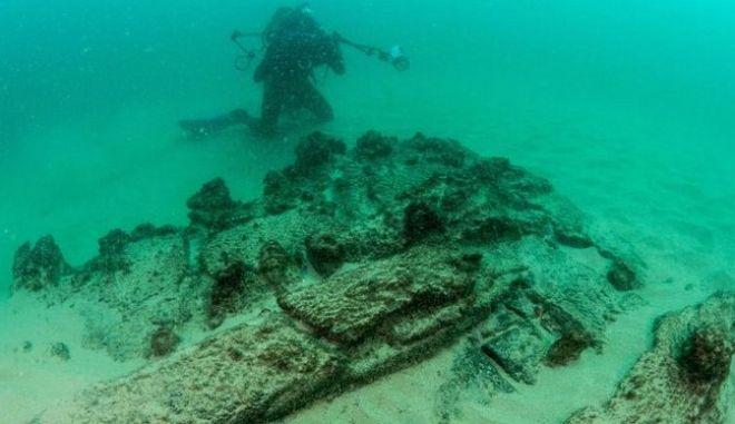 """Η """"ανακάλυψη της δεκαετίας"""" για την Πορτογαλία το ναυάγιο πλοίου 400 ετών"""
