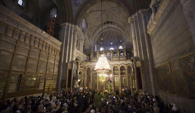 Ο Ναός του Παναγίου Τάφου στην Ιερουσαλήμ