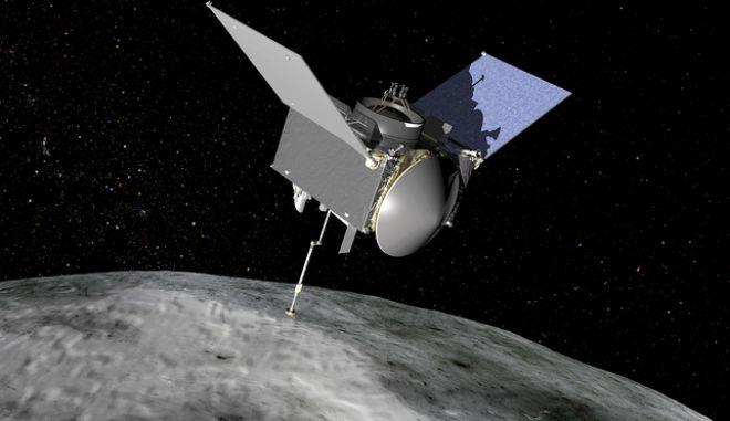 Το σκάφος OSIRIS-REx της NASA στον αστεροειδή Μπενού