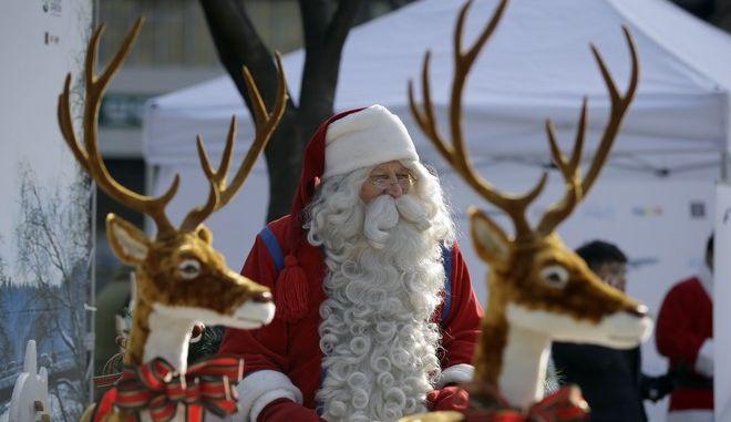 Ο Άγιος Βασίλης στη Σεούλ