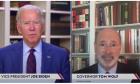 Ο Joe Biden σε livestream