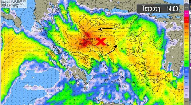Καιρός: Έντονα φαινόμενα με καταιγίδες και θυελλώδεις ανέμους - Οι περιοχές που είναι στο