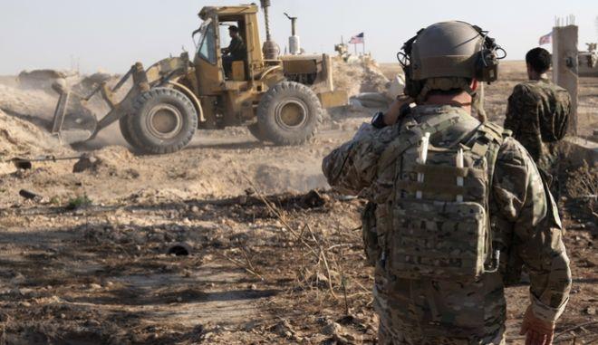 """Μέλος του αμερικανικού στρατού στην """"ασφαλή ζώνη"""""""