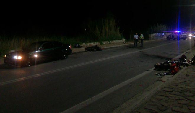 Τροχαίο δυστύχημα στη Λέσβο: Νεκροί δύο νεαροί άνδρες και μία κοπέλα