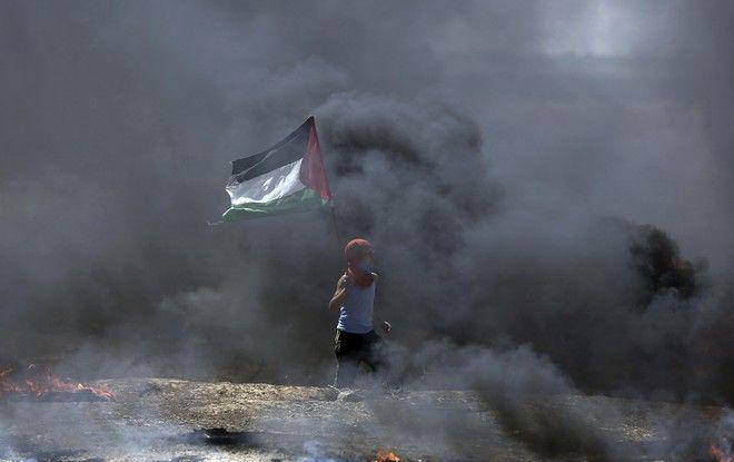 Συγκρούσεις στη Γάζα πριν τα εγκαίνια της πρεσβείας των ΗΠΑ