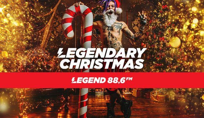 Legendary Christmas: Ζήσε τα πιο ροκ Χριστούγεννα στους 88.6