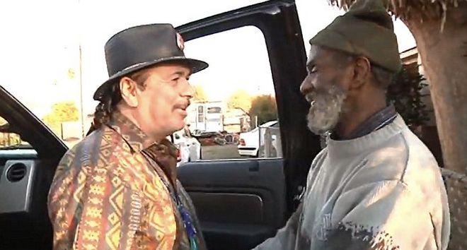 Απίστευτο βίντεο: Ο Κάρλος Σαντάνα βρήκε τον άστεγο ντράμερ του μετά από 40 χρόνια