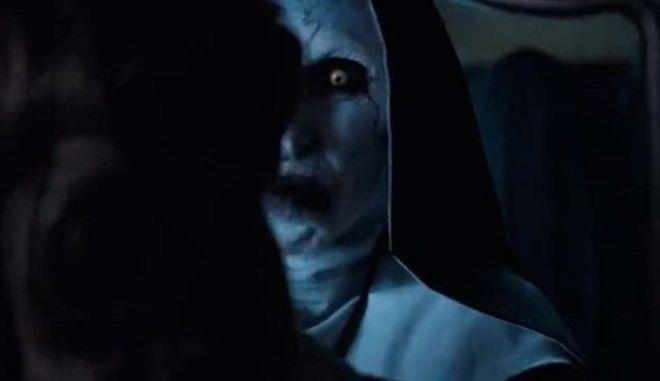 """Στιγμιότυπο από τη νέα ταινία του The Conjuring Universe, """"The Nun"""""""
