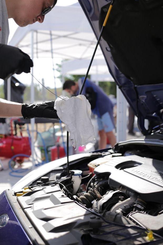 Πλήθος αυτοκινήτων επισκέφθηκαν το «Safety Pit Stop» της Anytime και της Νέας Οδού