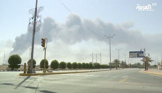 Σαουδική Αραβία: Η επίθεση των Χούτι μειώνει κατά 50% την παραγωγή πετρελαίου