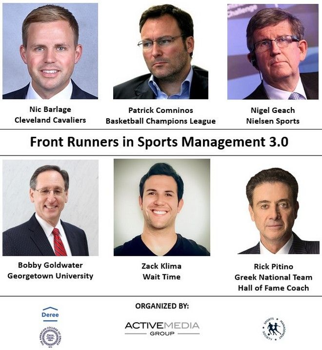 Webinar: Front Runners in Sports Management 3.0 - Ένα διαδικτυακό συνέδριο για τον αθλητισμό