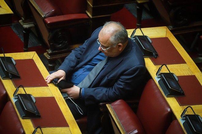 Ο βουλευτής της Ένωσης Κεντρώων Γιάννης Σαρίδης