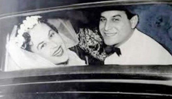 Μηχανή του Χρόνου: Η Ευ. Σαμιωτάκη και ο Σπ. Καλογήρου ήταν ερωτευμένοι για 50 χρόνια