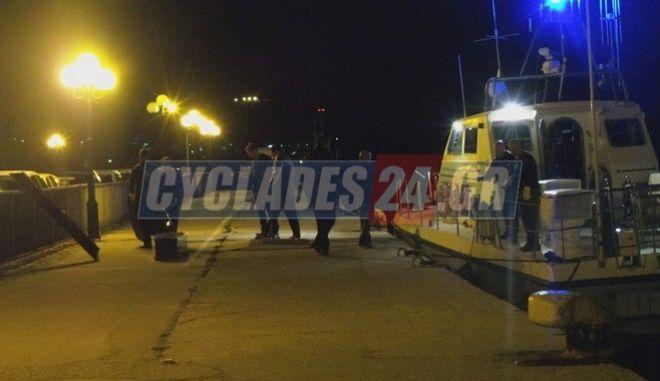 Εντοπίστηκε νεκρός ο αγνοούμενος επιβάτης του 'Blue Star Naxos'