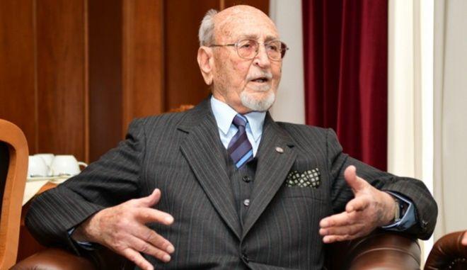 """""""Έφυγε"""" σε ηλικία 101 ετών ο αντιπτέραρχος Γεώργιος Πλειώνης"""