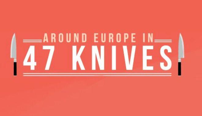 Τα 47 μοναδικά μαχαίρια της Ευρώπης. Δύο από αυτά είναι στην Ελλάδα