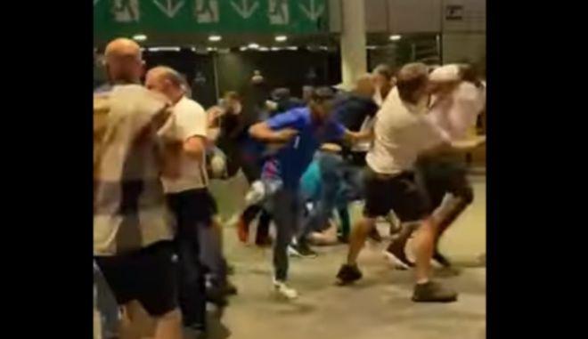 Σκηνές βίας μετά τον τελικό του Euro - Άγγλοι χούλιγκανς έστησαν ενέδρες σε Ιταλούς