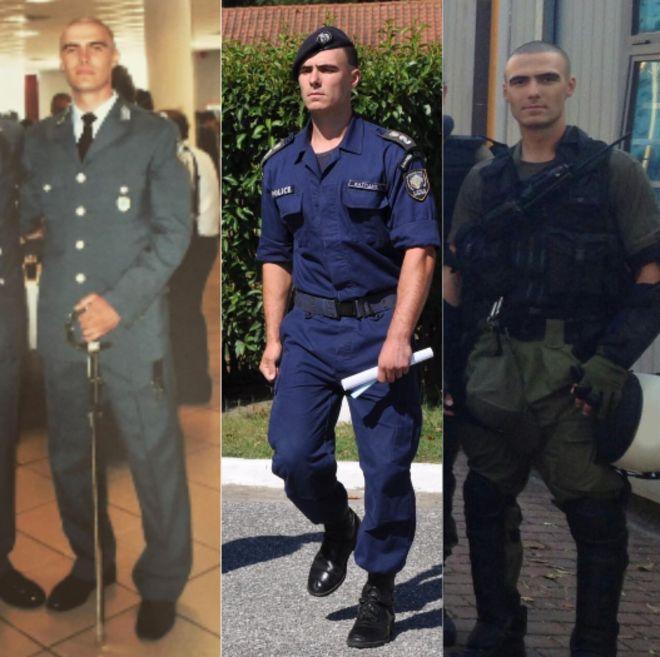 Η πορεία του David Kait στην Ελληνική Αστυνομία από την αποφοίτηση του στην σχολή Αξιωματικών της Αστυνομίας ως την ένταξη του στην ΥΑΤ