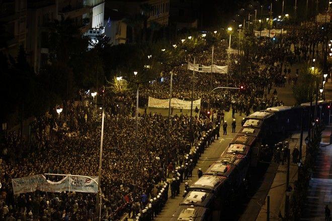 Πορεία για την επέτειο του Πολυτεχνείου, Αθήνα 2019