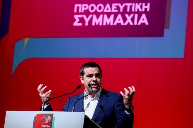 Ομιλία του Πρωθυπουργού Αλέξη Τσίπρα στo Γαλάτσι