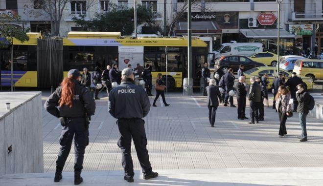 Κυκλοφοριακές ρυθμίσεις έξω από το Εφετείο Αθηνών