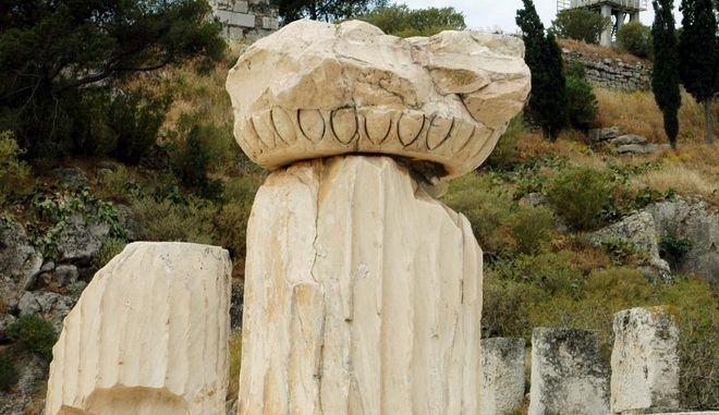 Ο αρχαιολογικός χώρος της Ελευσίνας