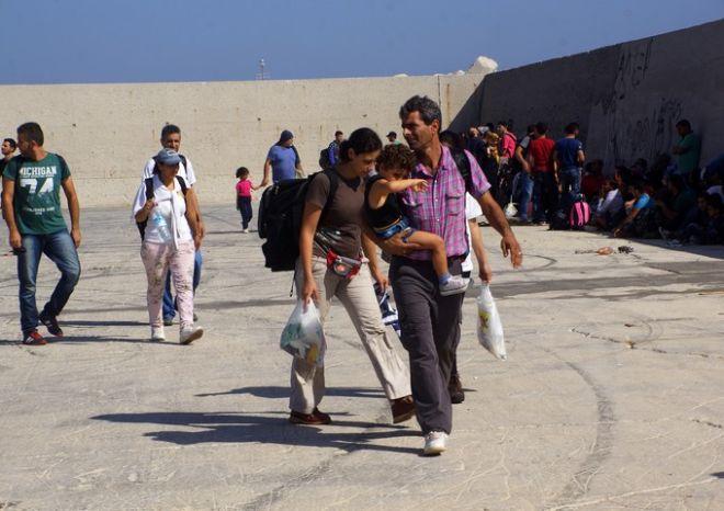 Σύροι πρόσφυγες