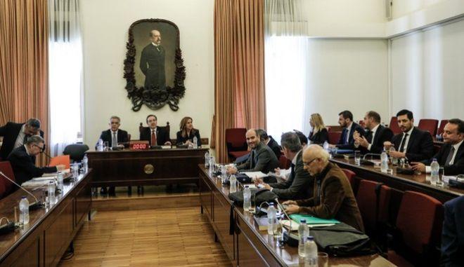 Ειδική Κοινοβουλευτική Επιτροπή προς διενέργεια Προκαταρκτικής Εξέτασης σχετικά με τη διερεύνηση αδικημάτων που τυχόν έχουν τελεσθεί από τον πρώην Αναπληρωτή Υπουργό Δικαιοσύνης Δημήτριο Παπαγγελόπουλο κατά την άσκηση των καθηκόντων του.