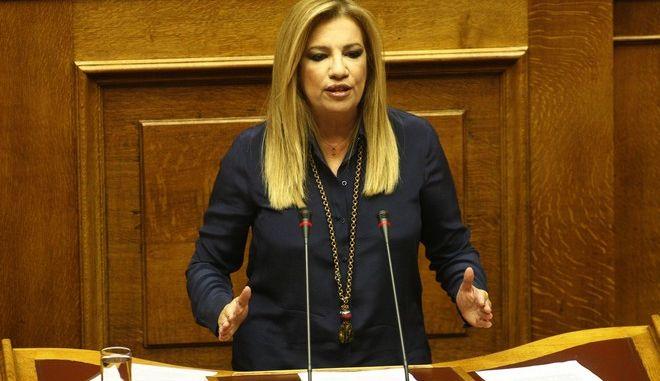 Συζήτηση στην Ολομέλεια της Βουλής, για τις προγραμματικές δηλώσεις της κυβέρνησης την Τετάρτη 7 Οκτωβρίου 2015. (EUROKINISSI/ΓΙΩΡΓΟΣ ΚΟΝΤΑΡΙΝΗΣ)