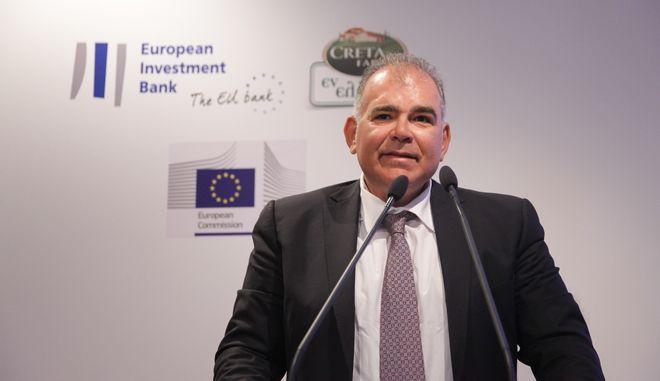 Κώστας Δομαζάκης, Μέτοχος της Creta Farms( EUROKINISSI/ΓΙΑΝΝΗΣ ΠΑΝΑΓΟΠΟΥΛΟΣ)