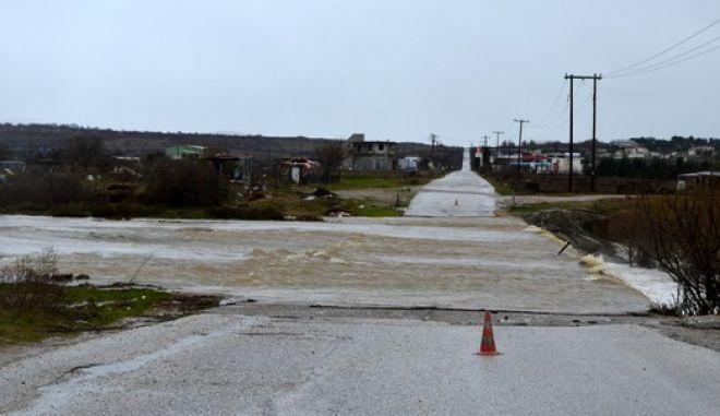 Πλημμύρες στην Κομοτηνή εξαιτίας της έντονης βροχόπτωσης την Κυριακή 8 Μαρτίου 2015. (EUROKINISSI/ΠΑΡΑΤΗΡΗΤΗΣ ΚΟΜΟΤΗΝΗΣ)