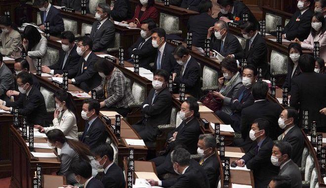 Βουλευτές στην Ιαπωνία