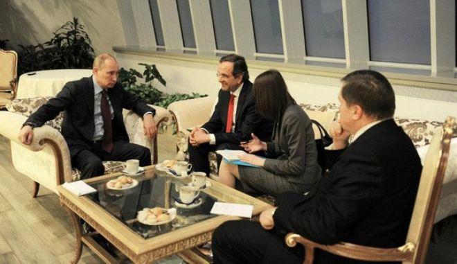 Ο Σαμαράς θα δει τον Πούτιν στις Βρυξέλλες