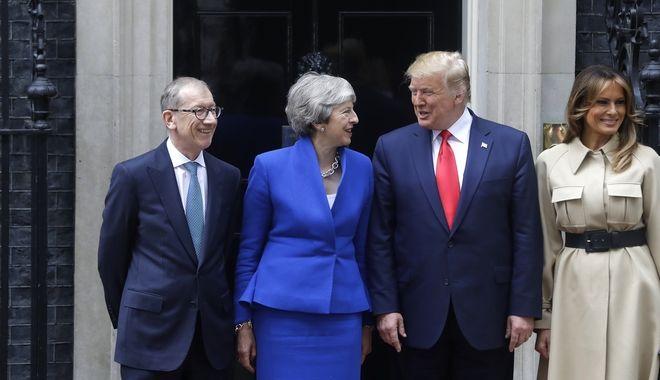 Επίσκεψη Τραμπ στη Βρετανία