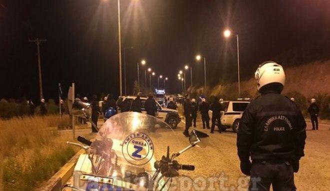 Λαμία: Επεισόδια οπαδών της ΑΕΛ με αστυνομικούς