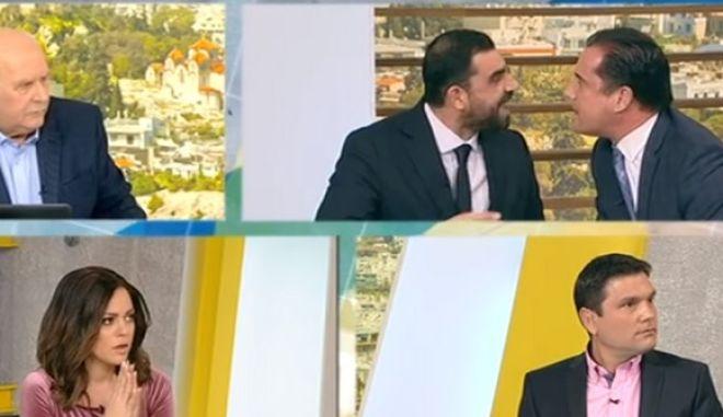 Ξεκατίνιασμα Κωνσταντινέα - Άδωνι με κατηγορίες για Dancing with the Stars και Πάολα